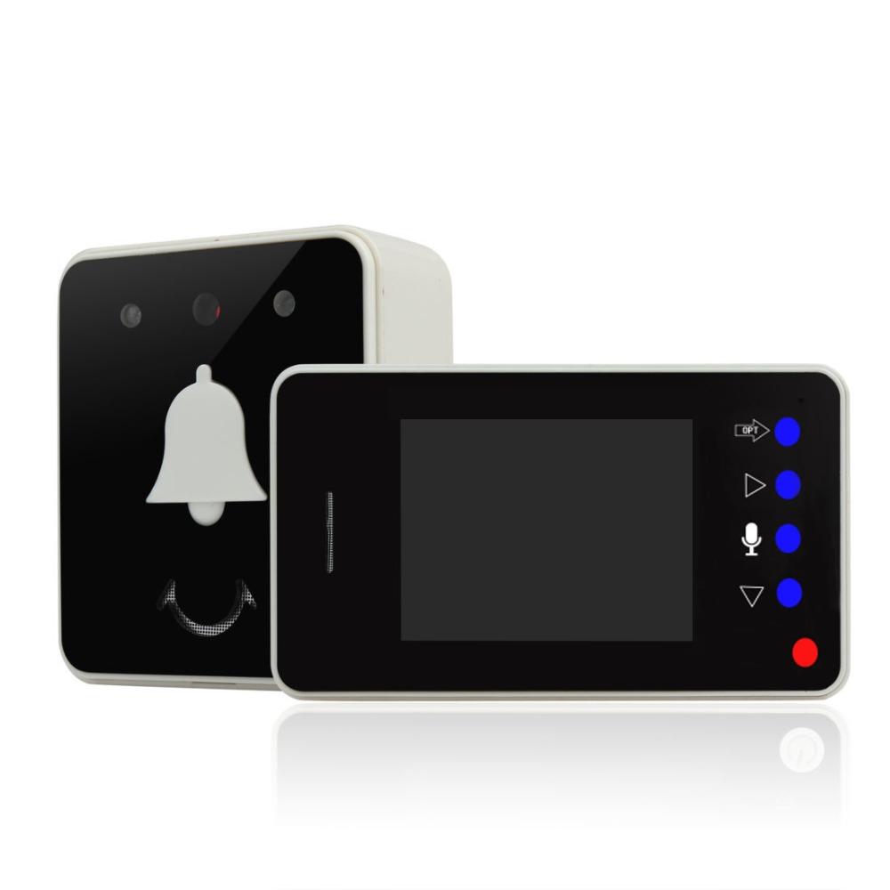 2.8 Inch LCD Display Two Way Intercom Video Doorbell(China (Mainland))