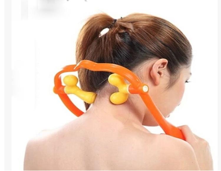 1 pcs Muti-functional portable duable Manual Household shoulder and neck massage free shipping(China (Mainland))