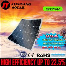 50W 12V solar panel battery charger for motorhome, caravan, camper, boat, car