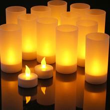 נרות לד אלקטרוניים