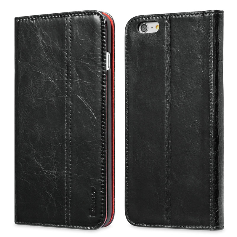 luxury brand case for iphone 6 RMD TECH luxury brand wallet PU Leather Cover For iPhone 6/6S Leather Luxury Cover For Iphone6/6s(China (Mainland))
