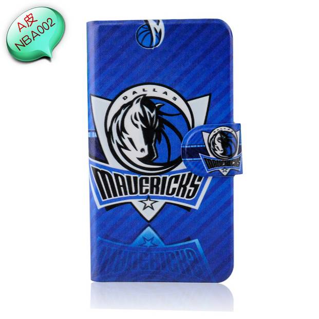 2014 Hot NBA basketball Badge Wolf ball lakers logo spurs PU leather case cover for HTC T326E Desire SV(China (Mainland))