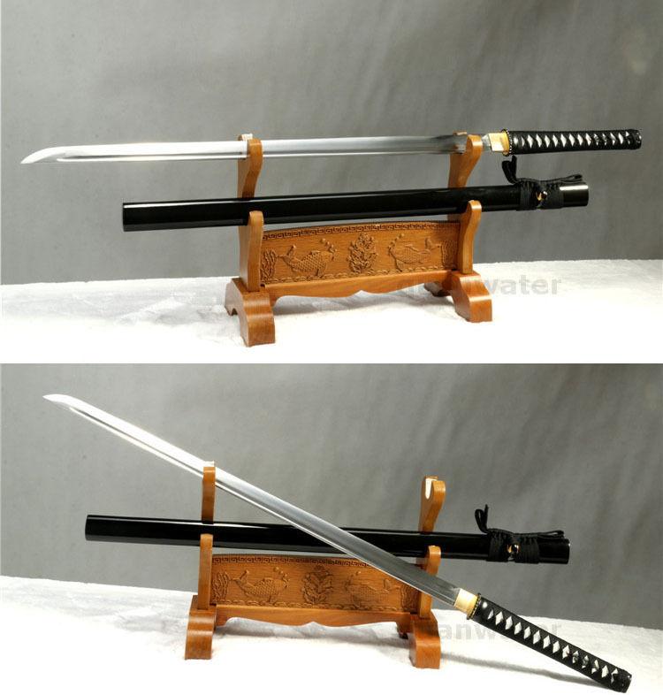 "40""HANDMADE PRINCE JAPANESE SWORD KATANA FULL TANG BLADE SHARP 1060 CARBON STEEL(China (Mainland))"