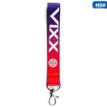 Kpop Blackpink Lisa Pin Album Discoloration Name Key Chain Key Ring Pendant Fashion Jewelry Keychain(China)