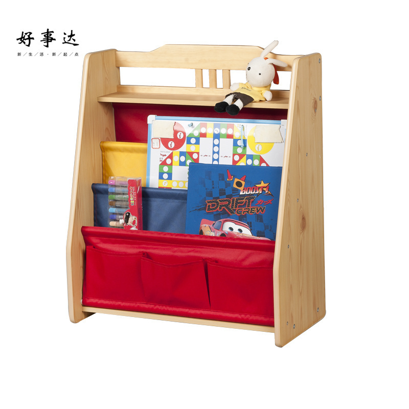Allstate children's books and toys, books shelf storage rack shelf magazine rack display data frame finishing 1034(China (Mainland))