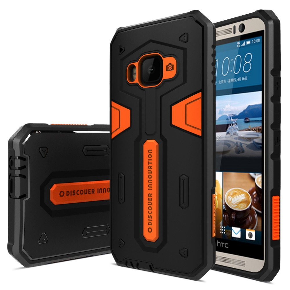 Nillkin Defender Back Case for HTC One M9 Stronger Shockproof Cover for HTC One M9 PC+TPU Combined+Retail package(China (Mainland))