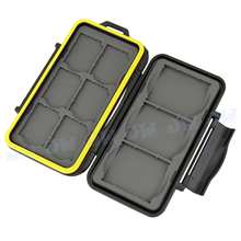 JJC MC-SD6CF3 Water-resistant  Anti-shock Hard Holder Storage Memory Card Case Protector For  6 SD + 3 CF cards Free Shipping(China (Mainland))