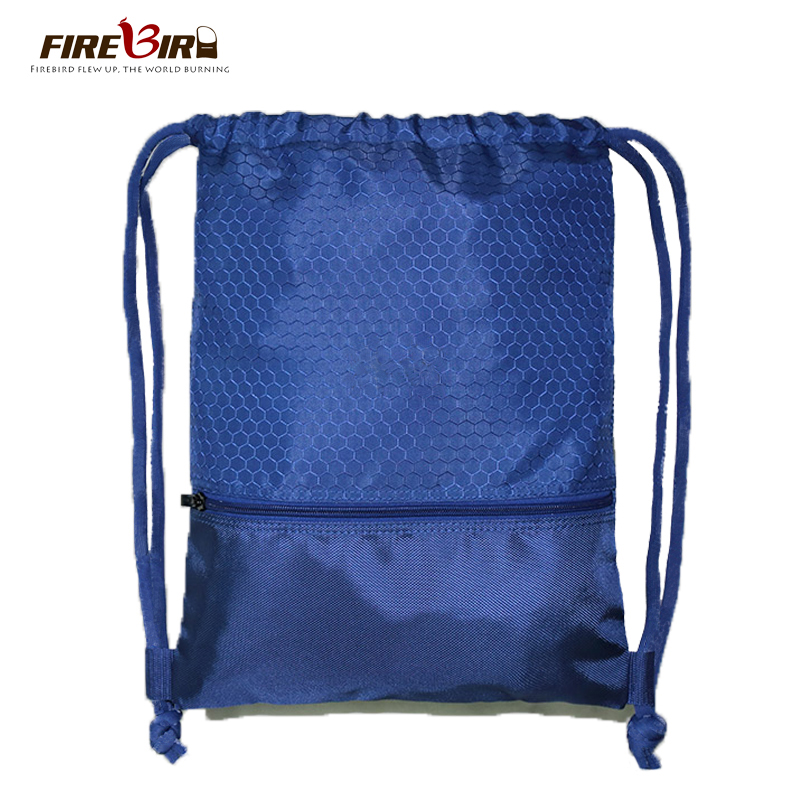 FIREBIRD!2015 Women Men neutral waterproof outdoor sports football basketball Drawstring travel bag backpack strings H345(China (Mainland))