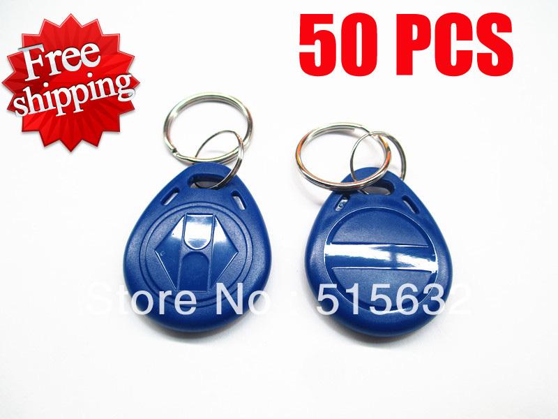 New 5s EM4305 125Khz RFID Writable Rewrite Proximity ID Token Tag Key Keyfobs blank card - small pill's store