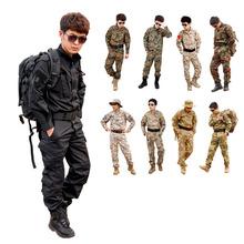 Cs Paintball traje, combate BDU uniforme, uniforme militar bdu, traje de caza, wargame, COAT + PANTS Set chaqueta Tactical envío gratuito(China (Mainland))