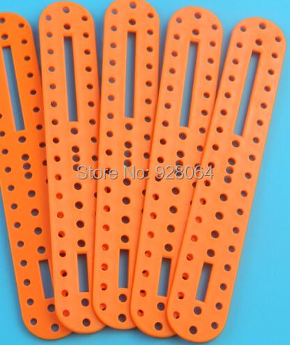 free shipping 20pcs Porous plastic rod / robot parts / quadruped robot stand / leg joints(China (Mainland))