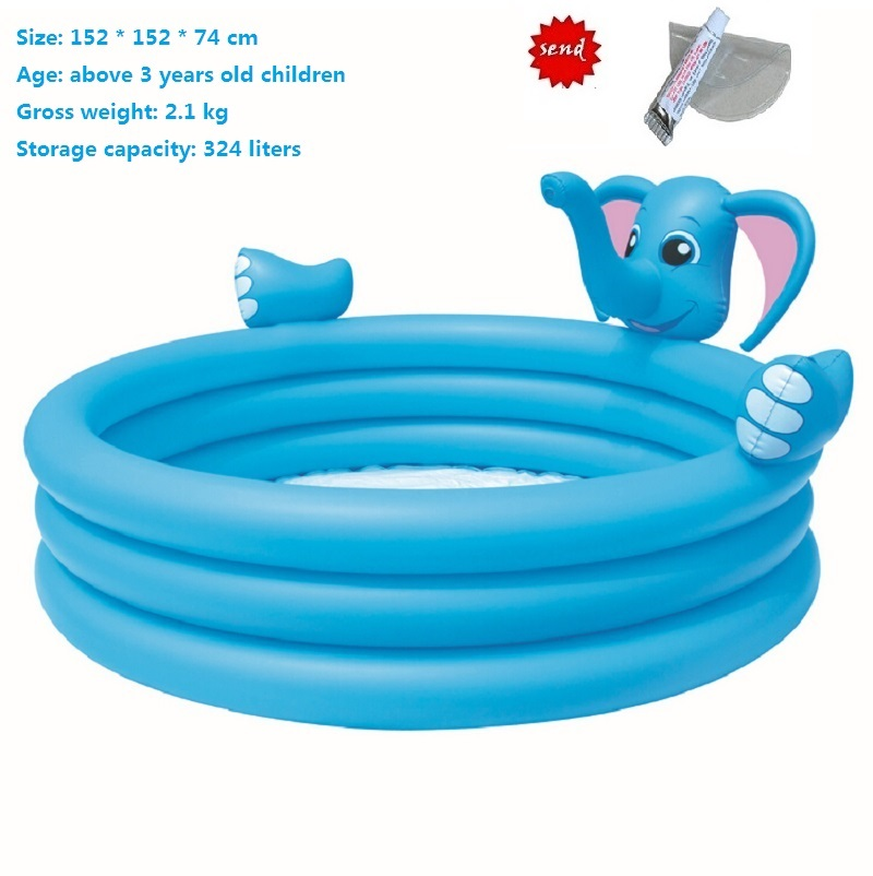 Kids Play Spray Pool Baby Swimming Pool Top-ring inflatable Support Swim Pool bath large inflatable swimming pool(China (Mainland))