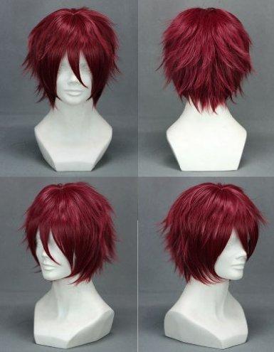 Hiiro no Kakera Takuma Onizaki Short Red Cosplay Wig<br><br>Aliexpress