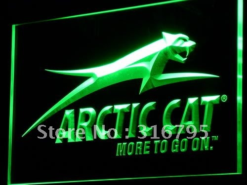 d129-g Arctic Cat Snowmobiles Logo LED Neon Light Sign(China (Mainland))