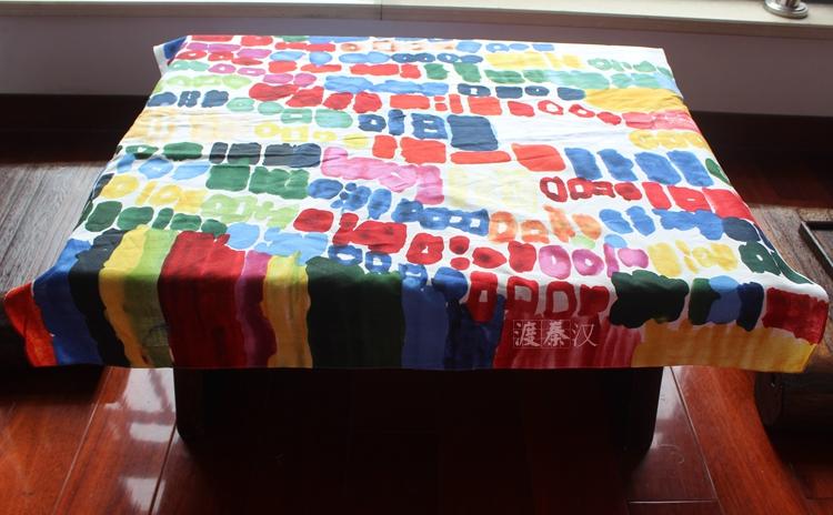 Japanese style Table cloth cotton 100% Furoshiki 90*90cm / gift packaging Many Uses(China (Mainland))