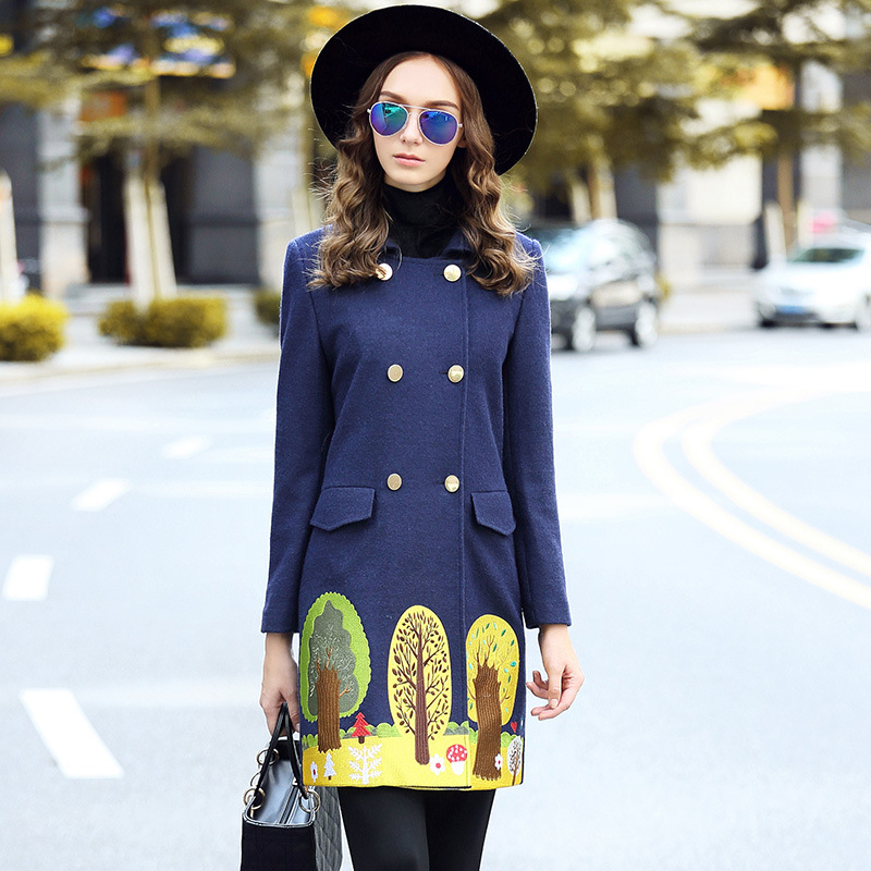 Compare Prices on Wool Coat Blue- Online Shopping/Buy Low Price ...