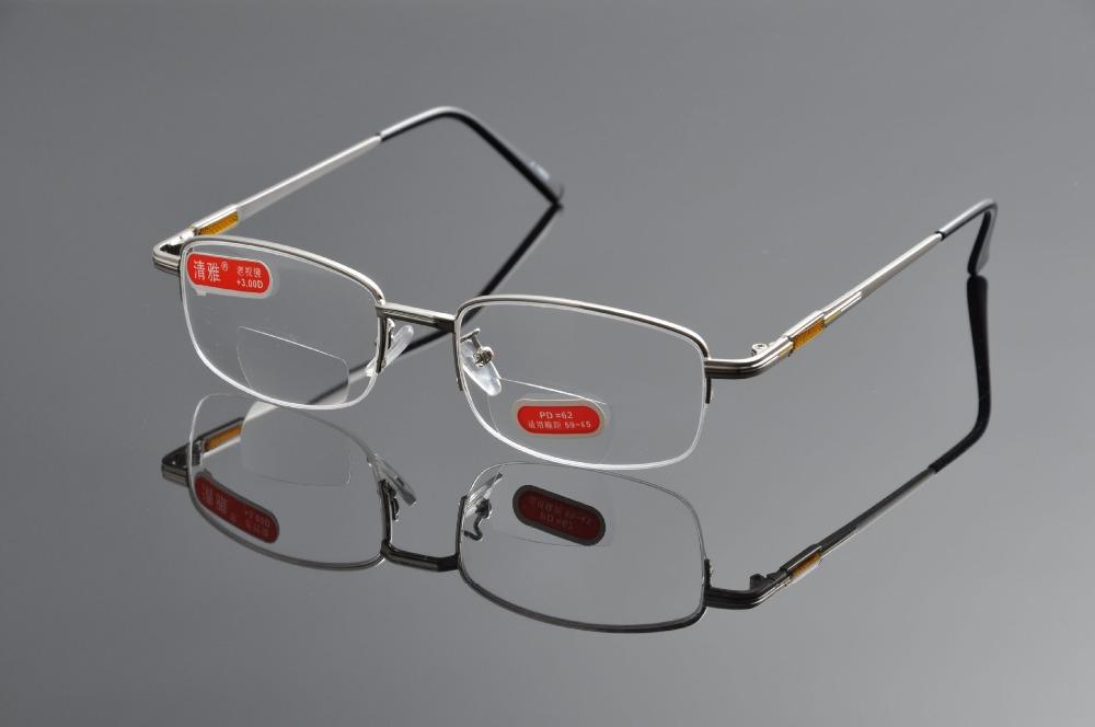 Как сделать бифокальные очки 883