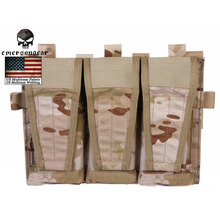 Buy EMERSON Tactical CP Style Triple Magazine Pouch AVS Vest 500D Nylon Pouch Hook Loop Top Molle System Hunting Vest for $21.82 in AliExpress store