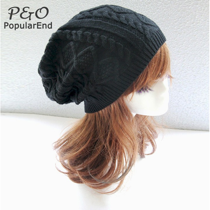 2015 winter hats women warm woolen knitted hat for women