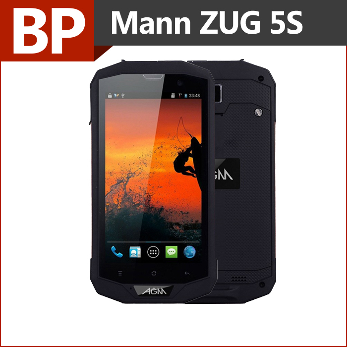 Original MANN ZUG 5S Watproof Phone 5 Inch HD 1280x720 pixel IPS Quad Core Android 4.4 Mobile Cell Phone 1GB RAM 8G ROM(China (Mainland))