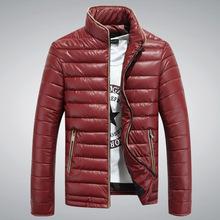 2015 musim dingin pakaian baru pria mantel jaket empuk versi Korea diri pria mantel musim dingin