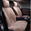 A universal size natural sheepskin fur capes on the car seat cover of Australian 100 sheepskin