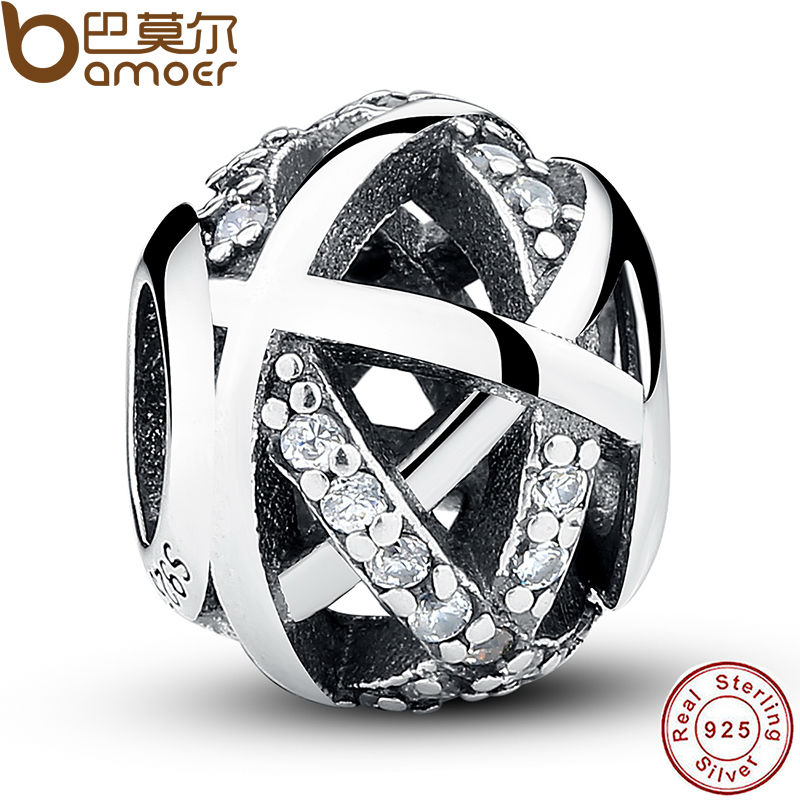 Original Charm Fit Bracelet 925 Sterling Silver Bead Galaxy Openwork With World Beads Jewelry Making Berloque PAS058(China (Mainland))
