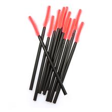 50pcs Makeup Cosmetic Disposable Eyelash Brush Mascara Wand Applicator Kit Cosmetic Tools Makeup Brushes(China (Mainland))
