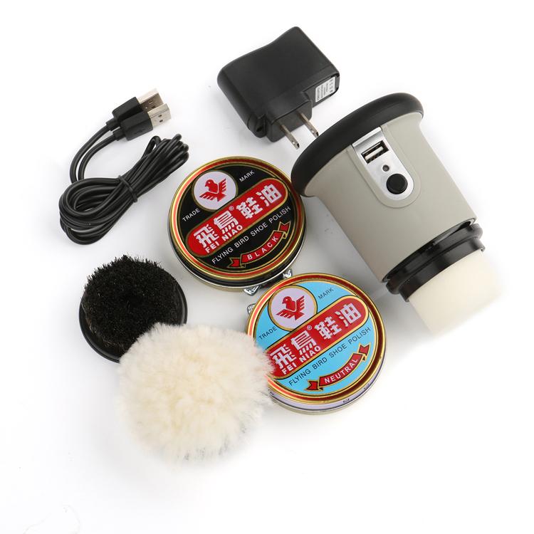 Free Shipping shoe polisher handheld portable shoe cleaning machine,shoe polishing equipment(China (Mainland))