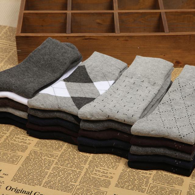 2015 прибывает 21 цветов осень зима мужские толстые теплые 100% хлопок носки для ...