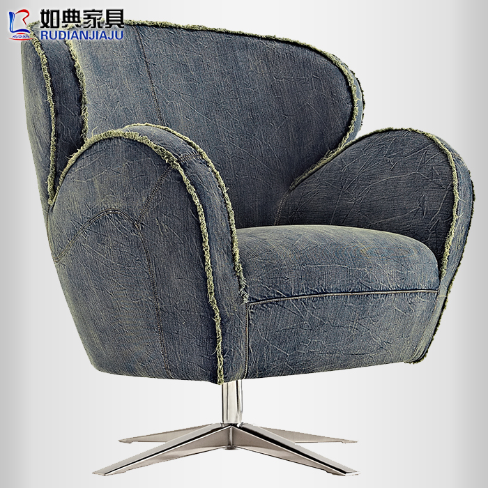 Code of furniture such as chairs Nima creative fashion casual fabric recliner sofa European single special promotions(China (Mainland))