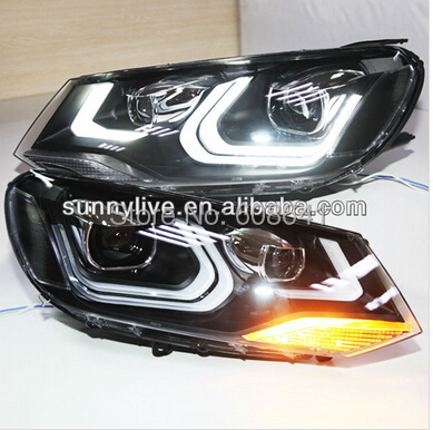 For VW Touareg LED Head light Projector Lens 2011-12 LD V2(China (Mainland))