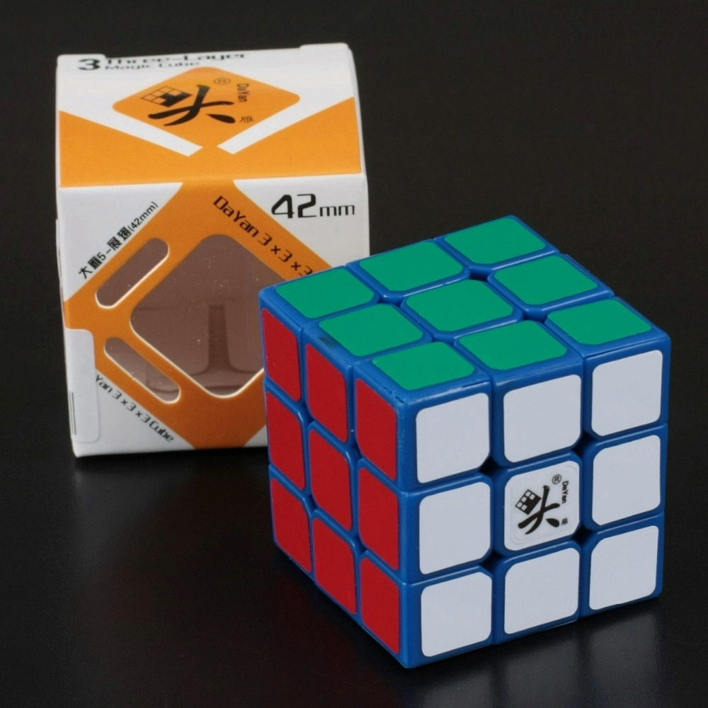 DaYan ZhanChi Speed Magic Cube 3x3x3 42mm Puzzle Cube Cubo Magico Puzzle Speed Classic Toys(China (Mainland))