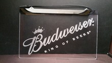 Buy b-256 Budweiser KING OF beer bar pub club 3d signs LED Neon Light Sign man cave for $12.59 in AliExpress store