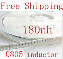 Buy Free SMD inductor 0805 180nh inductor 2mm*1.2mm size 100pcs/lot NEW stock can find value contact us for $6.20 in AliExpress store
