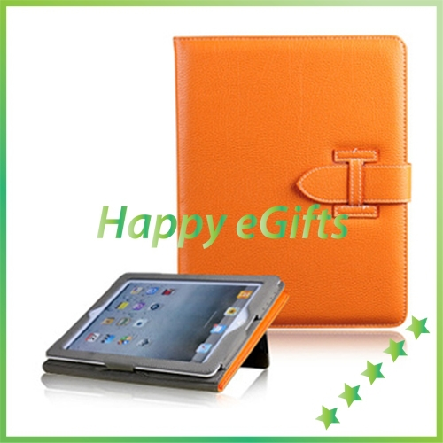 Leather Stand Hand Hold Wallet Case Smart Cover H Buckle new iPad 4 3 2 - Get it Happy store