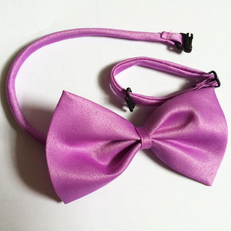 dog bows light purple