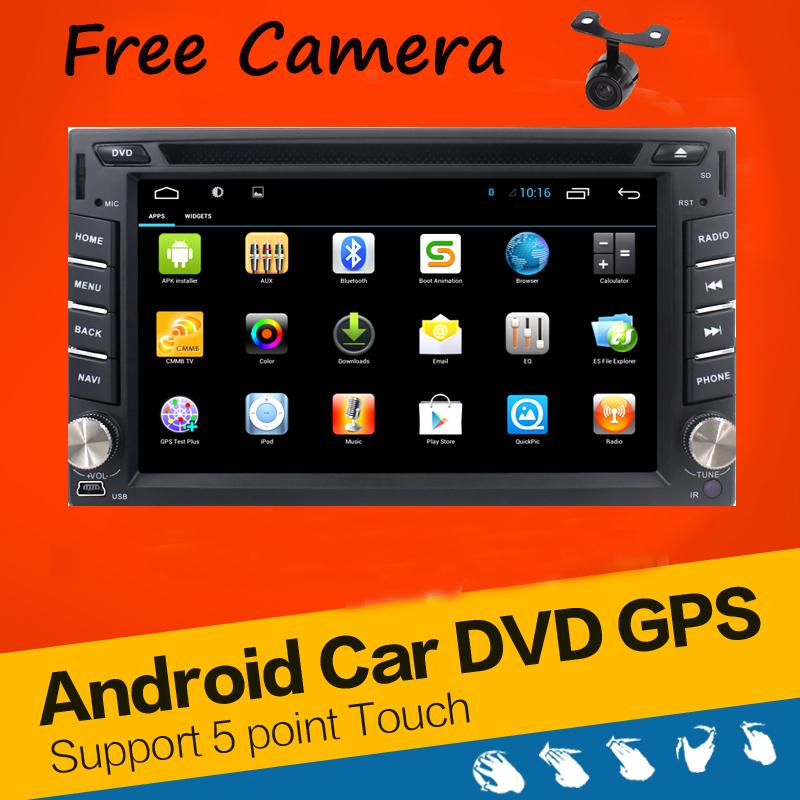 In Dash Android 4.2 2-CPU Double 2 Din Car radio GPS Navi DVD Player Stereo Headunit Video BT Car PC CD WiFi 3G car parking(China (Mainland))