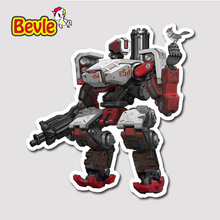 Buy Bevle 9107 OW Shooting Game Bastion Fashion Stickers Geezer Notebook Waterproof Tide 3M Sticker Fashion Skateboard Car Graffiti for $1.50 in AliExpress store