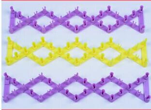 Новый радуга цветной резинкой браслет ткацкий станок шить сложить игрушки для детей