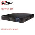 Dahua NVR 16ch 16 PoE ports NVR4416 16P 4HDDs support up to 5MP Recording onvif network