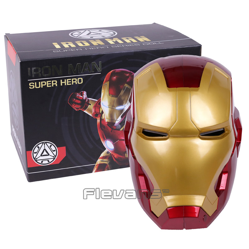 Back To Search Resultstoys & Hobbies Reasonable Auto Open And Light Recloser Iron Man Helmet 1:1 Wearable Abs Helmet Tony Stark Mark 42 Mk42 Cosplay Mask With Led Light Fb0108