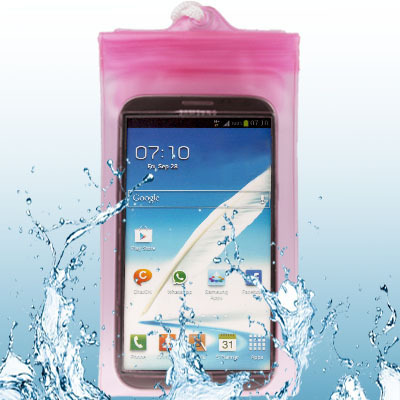 High Quality Mobile Phone Resistant Water Case for Samsung Waterproof Bag Cover for Samsung Galaxy Note II / N7100(China (Mainland))