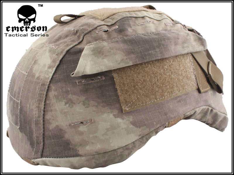 EMERSON MICH2000 Helmet Cover safty helmet accessories A-TACS EM5656(China (Mainland))