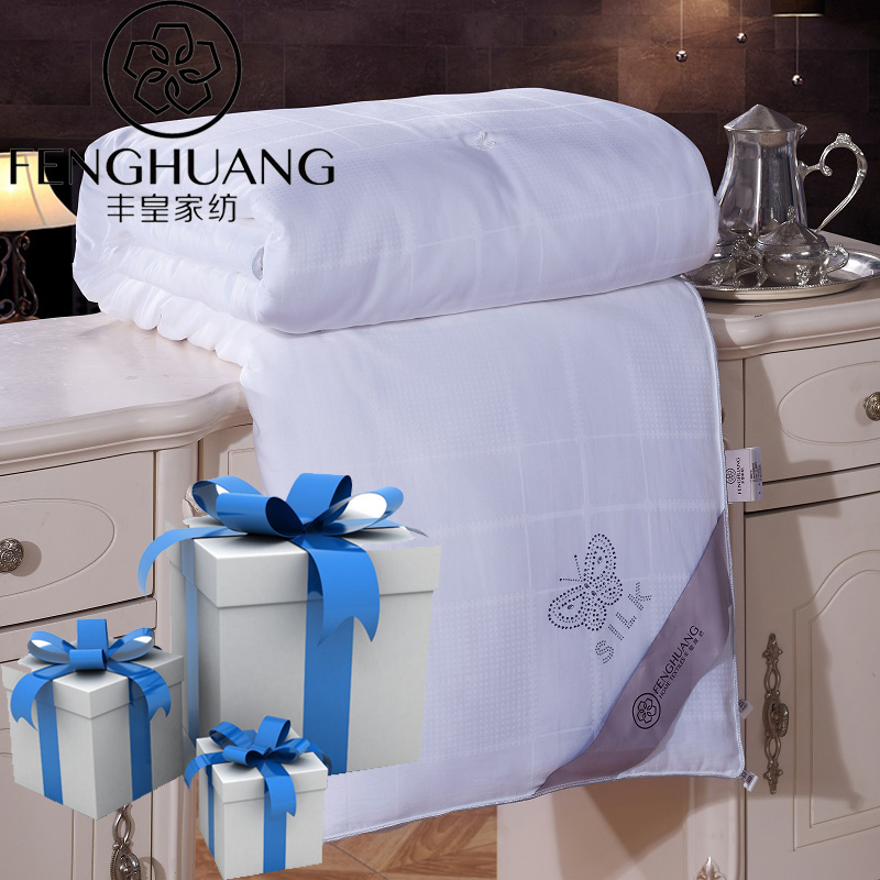 F.H Silk Quilt Chinese Zijde Quilt Silk Filler Blanket Duvet Comforter Customize Handmade Bedding Home Textiles Bedclothes(China (Mainland))
