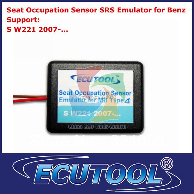 Wholesale 2pcs/lot Seat Occupancy Occupation Sensor SRS Emulator for Mercedes Benz W221 Airbag Sensor Repair Tool Type 4