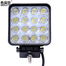 4PCS 48W 4800LM IP65 LED Work Light for Indicators Motorcycle Driving Offroad Boat Car Tractor Truck 4x4 SUV ATV Flood 12V 24V(China (Mainland))