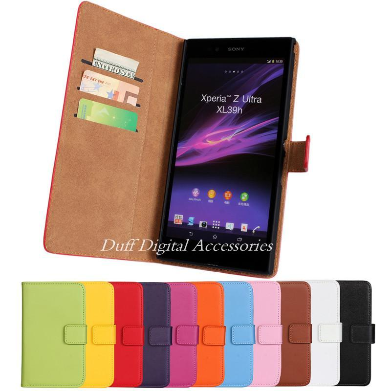 Sony Xperia Z Ultra Xl39h Fashion Magnetic Flip Wallet & Stand Card Slot Handbag Phone Cases Cover Fundas Coque Capa Para - HongKong NOHON International Co.,Ltd store