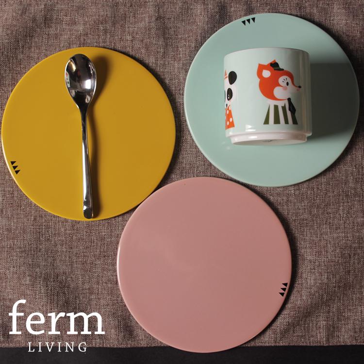 Mats pot holder coasters multicolor for za kka brief Ferm living pads(China (Mainland))