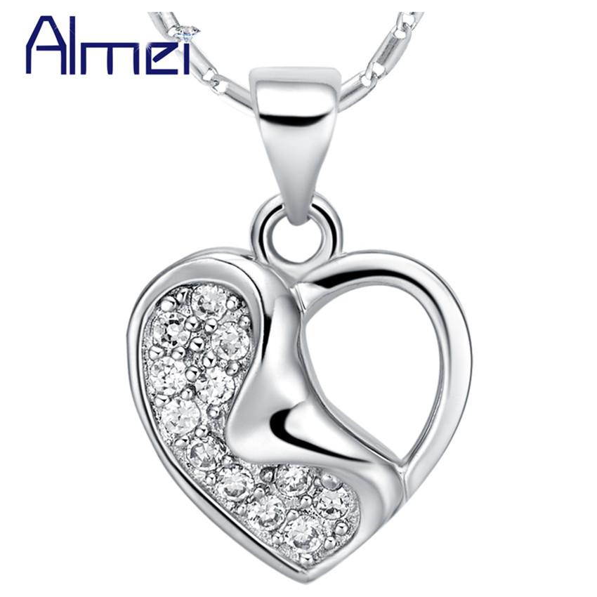 Joyeria Plata 925 Sterling Silver Wedding Jewelry Moda Feminina Necklaces for Women Accesories Body Chain Jewelry Ulove N714(China (Mainland))